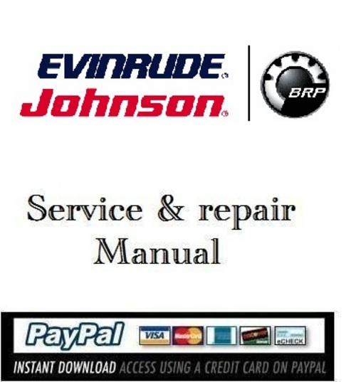 Product picture Download Service Manual Evinrude 55MFE 2009